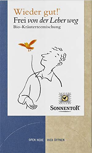 Sonnentor Bio Frei von der Leber weg Tee Wieder gut bio (6 x 27 gr)