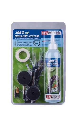 Kit Tubeless Eco Joes No Flat 17-19mm V.Fina