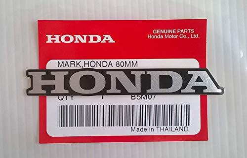 Honda 'Mark 80mm X 11mm Sticker Decal Silver/Black