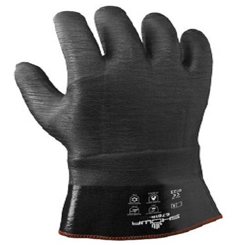 Showa Handschuhe bst6781r-10isoliert Neo Grab 6781r Handschuh, Größe: 10, Schwarz (2Stück)