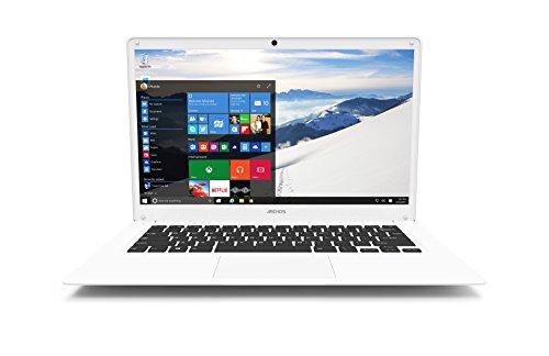 Archos 140 Cesium 14.1-Inch LED Notebook - (White) (Intel Atom, 2 GB RAM, 32 GB SDD, Windows 10)