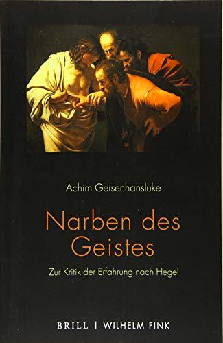 Narben des Geistes: Zur Kritik der Erfahrung nach Hegel