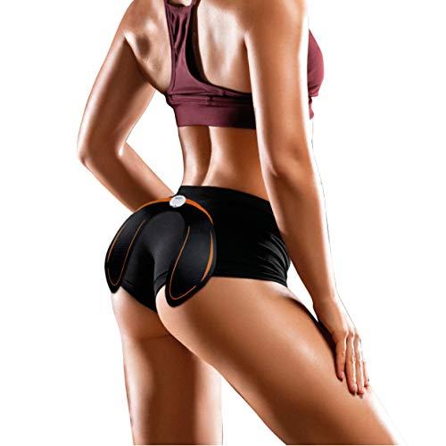 SILVANO Electroestimulador de glúteos para Fortalecer la Musculatura y Perder Grasa sin Hacer Esfuerzo!! Realza y tonifica (Negro&Naranja)
