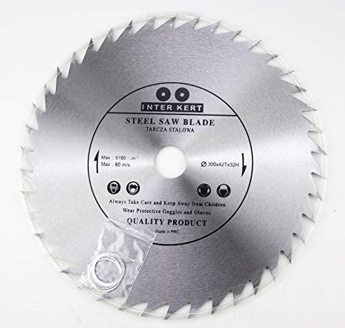 Hoja de sierra circular (300 mm, para madera, 300 x 32-20 mm, 42 dientes)