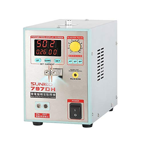 Sunkko 797DH Battery Spot Welder Welding Machine for Lithium Batteries with Soldering Function 0.3mm