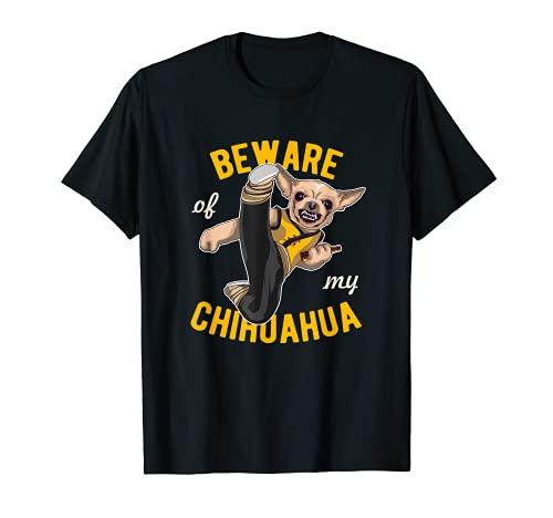Cuidado con Chihuahua Camiseta