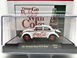 M2 Machines by M2 Collectible 1 of 750 Worldwide Chase Car with Special Wheels & Unique Design Coca-Cola 1967 VW Beetle Deluxe U.S.A. Model 1:64 Scale RW04 18-38 White Details Like NO Other!