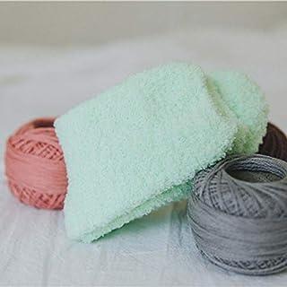 Adebie - 3PC Women Cozy Cashmere Socks Winter Warm Sleep Bed Socks Floor Home Fluffy Socks Coral velvet Feet Warmer Christmas gift meias