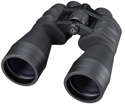 Bresser Fernglas Spezial-Saturn 20x60 Porro mit hoher Vergrößerung mit mehrschichtvergüteter Optik, Stativanschlussgewinde inklusive Trageriemen, Transporttasche und Stativ-Adapter