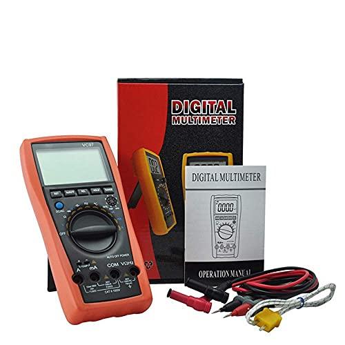 Digitale Elettrotecnico Multimetro Professionale Cifre True RMS 4000 Conteggi Resistenza capacità Misurazione della Temperatura Multimetro Digitale VC97