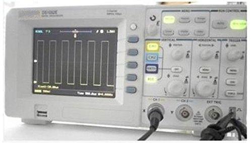 GOWE Osciloscopio digital 50MHz DSO 1GSa/S 2 canales + sonda de alto voltaje