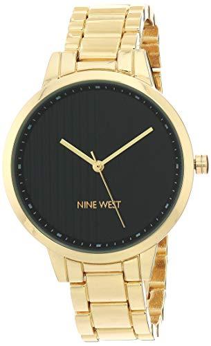 Nine West Dress Watch (Model: NW/2564BKGP)