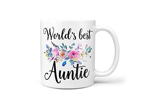 Taza de café para tía, regalo para tía, mejor tía, tía, tía, tía, tía, tía, tía, tía