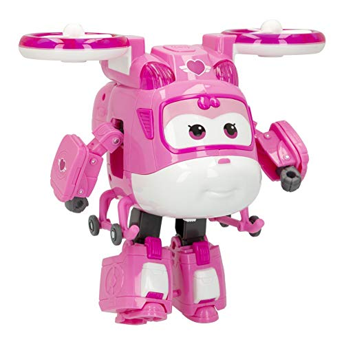 Super Wings - Figura Super Charge luz & Sonido, Dizzy (ColorBaby 85395)