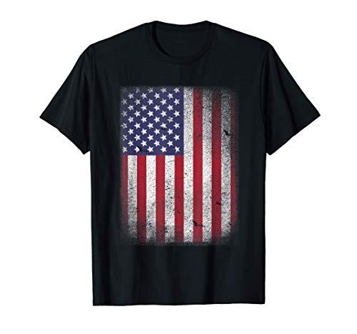 Bandera Americana ee.uu. Camiseta