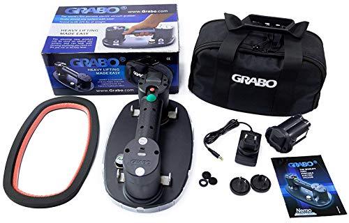 Akku Vakuum Saugheber - Nemo Grabo Plus Set | Bis 170Kg Tragkraft