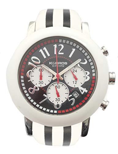Orologio da polso uomo K&BROS 9427-1-710 cinturino in pelle
