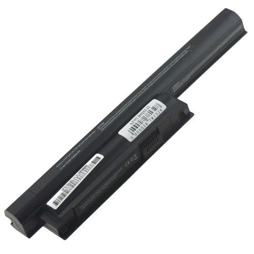 AT Batteria Potenziata 5200mAh 10,8V per Portatile Sony Vaio VPC-EG3AJ, VPC-EH, VPC-EH13FX/B, VPC-EH13FX/L, VPC-EH13FX/P, VPC-EH13FX/W, VPC-EH15EG/B, VPC-EH15EN/W, VPC-EH15FX/W, VPC-EH16EA/P