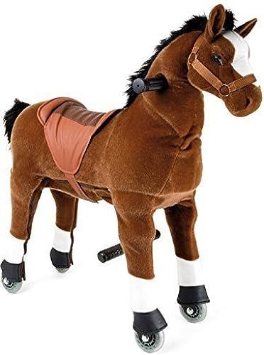 minoristas en línea Foal Horse Ride on Toy Pony in marrón Ages 3-6 3-6 3-6 10kg- 40kg by Legler  precios razonables