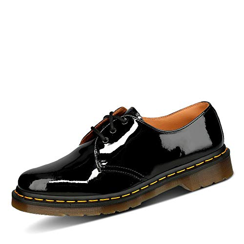 Dr. Martens Women's 1461 W Oxford,Black Patent,3 UK/5 M US
