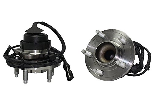 Detroit Axle - Brand New (Both) Front Wheel Hub and Bearing Assembly For 2005-2009 Crown Victoria, 2006-2008 Grand marquis, 2005-2009 Town Car 5 Lug W/ABS (Pair) 513230 x2