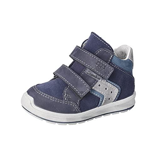 RICOSTA Jungen Boots KIMO von Pepino, Weite: Weit (WMS),lose Einlage,Sympatex,Booties,wasserdicht,Kids,Kinderschuhe,Nautic (174),27 EU / 9 Child UK