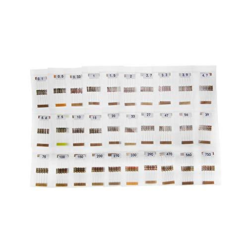 paquete De 50 0.25 w Film carbono resistor 56r