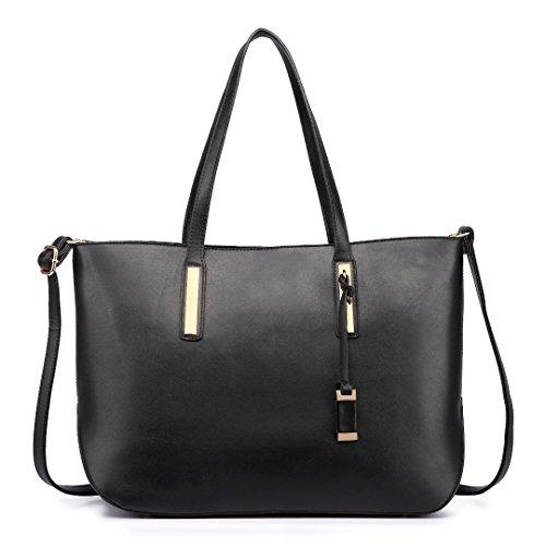Miss Lulu Handtaschen Umhängetasche Frauen Elegant Modern Shopper