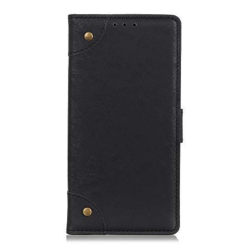 SHIEID Schutzhülle für LG K40s Brieftasche Handyhülle Tasche Leder Flip Hülle Brieftasche Etui Hülle für LG K40s mit Stand Funktion(Schwarz)