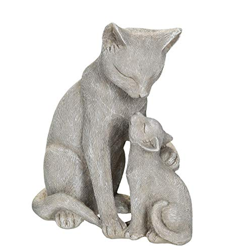 /N Softwarego 71014 - Gatos con gatito (14 cm), color gris