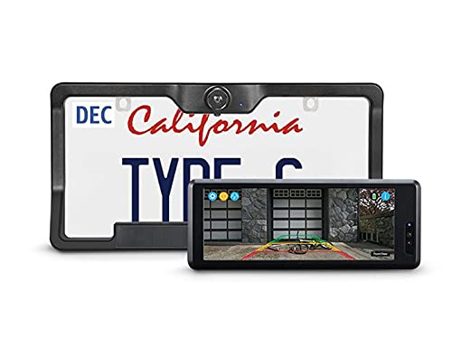 Type S Wireless & Solar Powered HD Backup Camera with 6.8