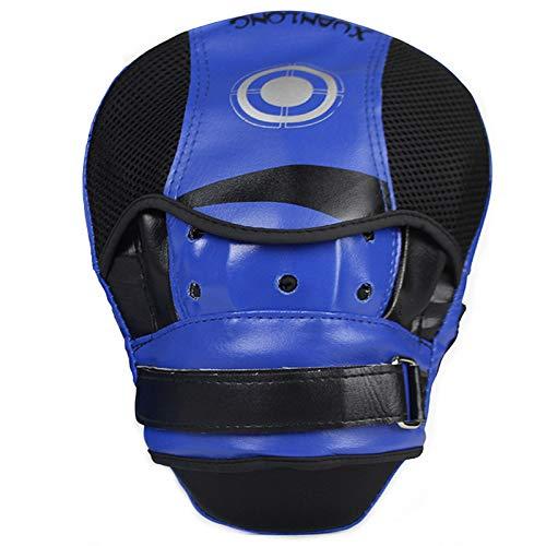 YOUSHANG Soltero Boxeo Entrenamiento | Manoplas Boxeo Azul Negro | Strike Pads...