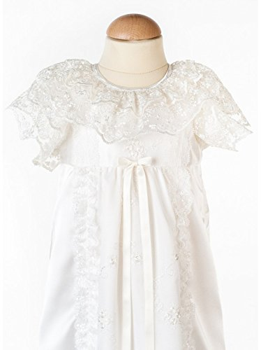 Grace of Sweden - Costume de baptême - Bébé (garçon) 0 à 24 mois blanc cassé no bow 68/74, 6-11 months, chest 19,5 in.