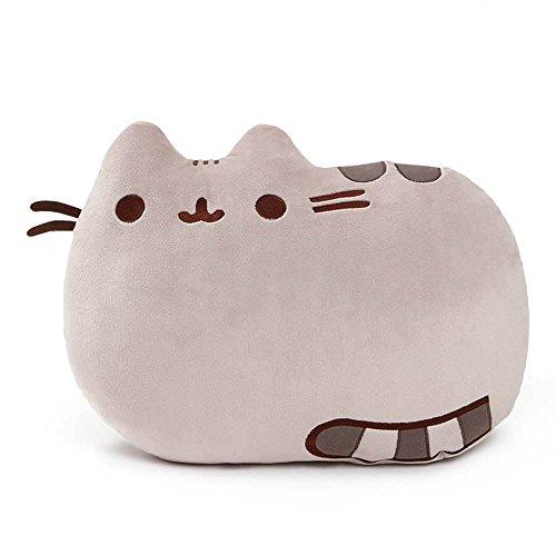 GUND Pusheen Pillow Cat Plush Reversible, 16.5', Grey, 4048862