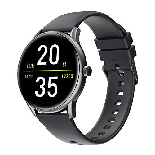 Smartwatch,Reloj Inteligentecon Impermeable IP68 con Pulsómetro Cronómetros,13 Modos Deportivos,Monitor de Sueño Podómetro Pulsera Pulsómetros Hombre y Mujer Reloj Deportivo para Android iOS
