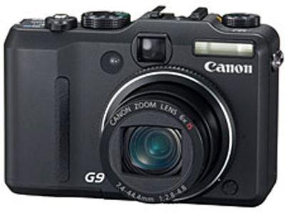 Canon Powershot G9 Digitalkamera (12 MP, 6-fach opt. Zoom, 7,6cm (3 Zoll) Display, Bildstabilisator)