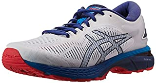 Asics Men's Gel-Kayano 25 Running Shoes,White (White/Blue Print 100) ,7 UK (41.5 EU) (B079J5W622) | Amazon price tracker / tracking, Amazon price history charts, Amazon price watches, Amazon price drop alerts