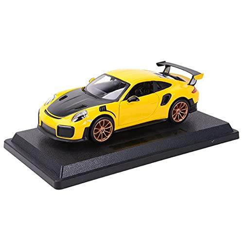 LXLN Für Pors-Che 911 GT2 RS Modell Sportwagen 1:24 Statische Diecast-Fahrzeuge Modell Auto Spielzeug Kinder...