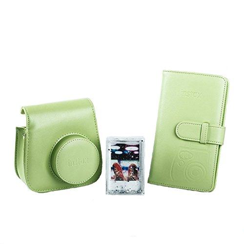 Fujifilm Instax 70100138069 Kit Accessori Per Fotocamera Mini 9, Lime Green