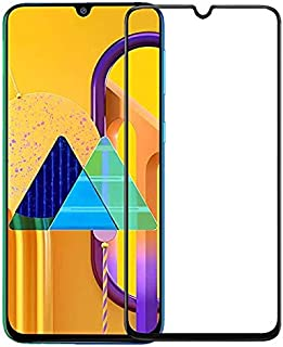 Tembered Glass Screen Protector For Samsung Galaxy M30s, Black