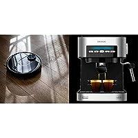 Cecotec Robot Aspirador Conga Serie 3690 Absolute + Power Espresso 20 Cafetera
