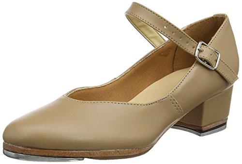 So Danca Ta44, Zapatos de Tap para Mujer, Beige (Caramel), 36.5...