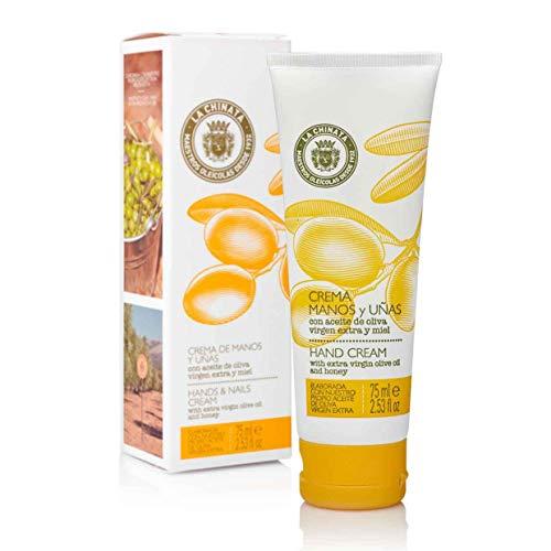 LA CHINATA - Cosmétiques à l'Huile d'Olive (CORPS - Crème pour les Mains et les Ongles - 75 ml)