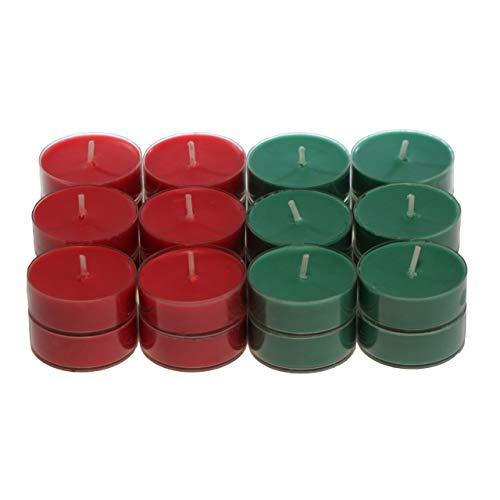 CandleNScent Scented Holiday Candles Tea Lights Variation – Holiday Set - Pack of 24