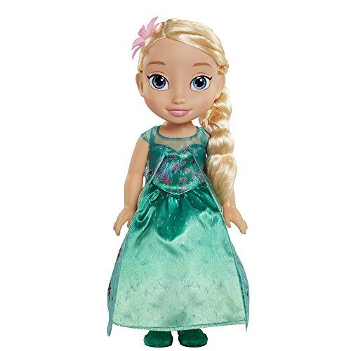 Disney Fièvre Elsa Ma première poupée pour Enfant (Multicolore)