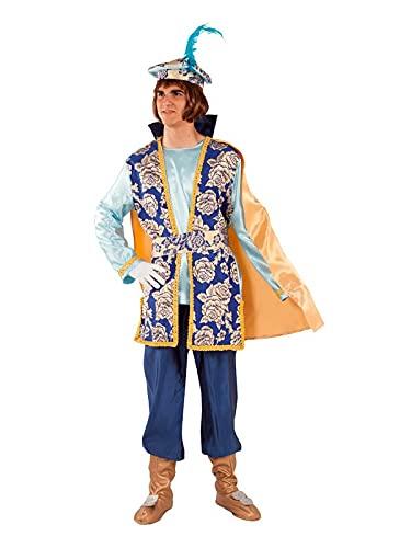 DISBACANAL Disfraz de PAJE Gaspar para Hombre - L