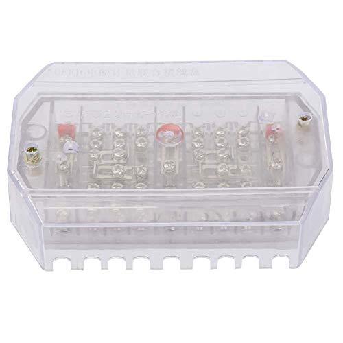 Anschlussdose, Anschlussdose, transparentes Relaisschutzgerät QFJ6 / DFY2 Relaisschutz Elektrisches Instrument für Stromzähler(DFY2+Electric cover)