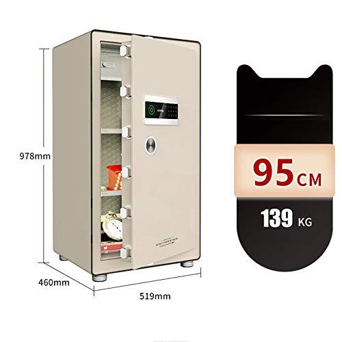 YU-CZ0 Große Tresore, Kennwort Fingerabdruck, unsichtbar in den Kleiderschrank, große Kapazität Safe, zu Hause Wand-Haus-Safe,95cm/139kg