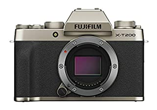 Fujifilm X-T200 Mirrorless Digital Camera Body - Champagne Gold (Body Only) (B084393C5S) | Amazon price tracker / tracking, Amazon price history charts, Amazon price watches, Amazon price drop alerts