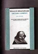 Théâtre complet, tome 3 :Titus Andronicus - Roméo et Juliette - La Vie et la mort du roi Jean